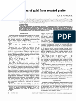 The dissolution of gold from roasted pyrite concentrates by A.O.Filmer.pdf