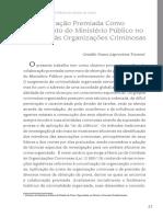 2 a Colaboração Premiada Como Instrumento Do Ministério Público No Combate Às Organizações Criminosas