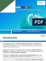 Presentación Video-Feedback Modelo ODISEA 2016 Profesionales