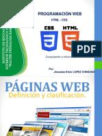 2. Tipos de Página Web