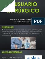 Semana 01 - El Usuario Quirurgico