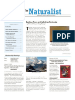 January-February 2010 Naturalist Newsletter Houston Audubon Society