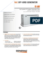 6kW Off Grid Spec Sheet 061610