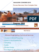 Advances in Gold Process Recovery From Complex Ores - MINING MAGAZINE CONGRESS 2010.pdf