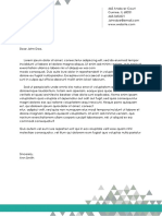 Official Letterhead Template 1 (Word) - TemplateLab Exclusive
