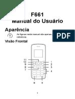 Manual Do Usuário F661