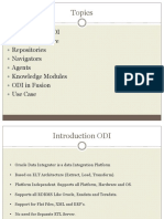 ODI Overview