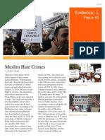 muslim discrimination newsletter