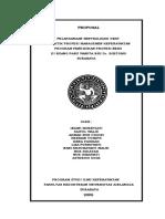 Proposal Sentralisasi Obat