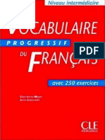 Vocabulaire Progressif Du Francais Avec 250 Exercices French Edition