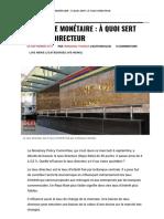 Politique Monétaire _ à Quoi Sert Le Taux Directeur _ Defimedia