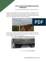 REPORTE DE VISITA A PLANTA DE TRATAMIENTO DE AGUAS RESIDUALES.doc
