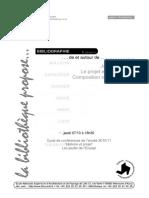 Bibliographie Jacques Lucan