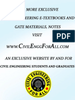 Gate Civil Engineering Study Material Pdf