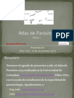 Atlas de Parasitos 2013 -- Parte1