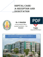 Dr.Rajesh CMO (RGGGH)	In-hospital care of trauma patients in Tamil Nadu – current systems for Management of Adults