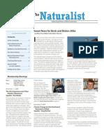 November-December 2009 Naturalist Newsletter Houston Audubon Society