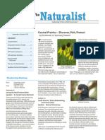 September-October 2010 Naturalist Newsletter Houston Audubon Society