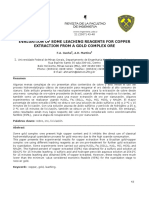 EVALUATION OF SOME LEACHING REAGENTS FOR COPPER EXTRACTION FROM A GOLD COMPLEX ORE by F.A. Cunha.pdf