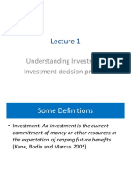 Lec1 Understanding Investment
