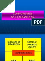2.1-Componentes de la Albañilería.ppt