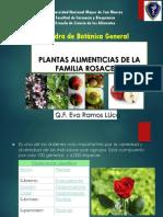 Rosaceae Eap c. Alimentos Prof. Eva