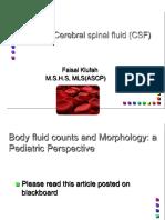 CSFin Hematology