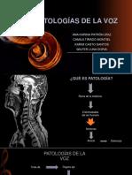 Patologías de La Voz Corregido
