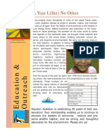 2009 Education Annual Report Houston Audubon Society