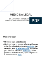 IntroDucciOn a medicina legal