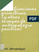 Kupdf.com Durkheim Eacutemile y Mauss Marcel Clasificaciones Primitivas y Otros Ensayos de Antropologiacutea Positiva