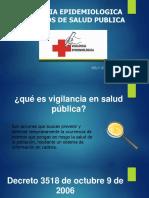 Eventos de Vigilancia en Salud Pública