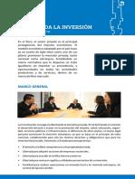 Esp_peru - Bienvenida La Inversion