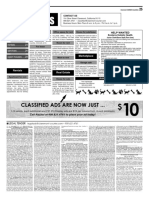 Claremont COURIER Classifieds 11-10-17