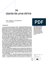 Reflex__es Diante de Uma Vitrine_Hans Magnus Enzensberger