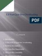 Gear Box Overhauling
