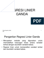 Regresi Linear Ganda
