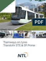 Translohr - Brochure - English