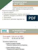 9.- 9na Sem Ley N° 26842 Ley General de Salud