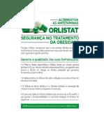 Orlistat - Alternativa Às Anfetaminas