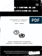 Teoría, Diseño y Control de Los Procesos de Clarificación Del Agua