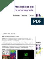Forma-textura-color