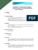 GUIDE D'ACCOMPAGNEMENT À L'INTENTION DU PERSONNEL SCOLAIRE - Participation des parents à la réussite éducative des élèves du primaire