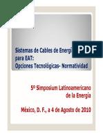 Sistemas de Cables de Energia Para EAT
