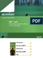 ERP SAP & SD