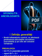 6. Reumatologie - Spondilita Ankilozanta V