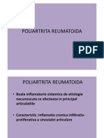 5. Reumatologie - Poliartrita Reumatoida