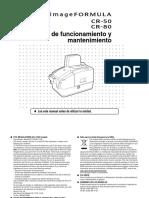 Escaner CR-50 / 80 - Manual del Usuario