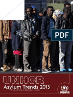 Revised UNHCR Asylum Trends 2013