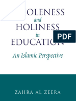 12. Wholeness and Holiness in Education (uvod) - Zahra.pdf